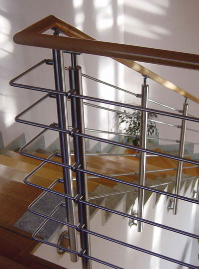 stainless steel stair handrail New Hand Rail Standards Pro Rail Stainless Steel Railing WoodInox Images