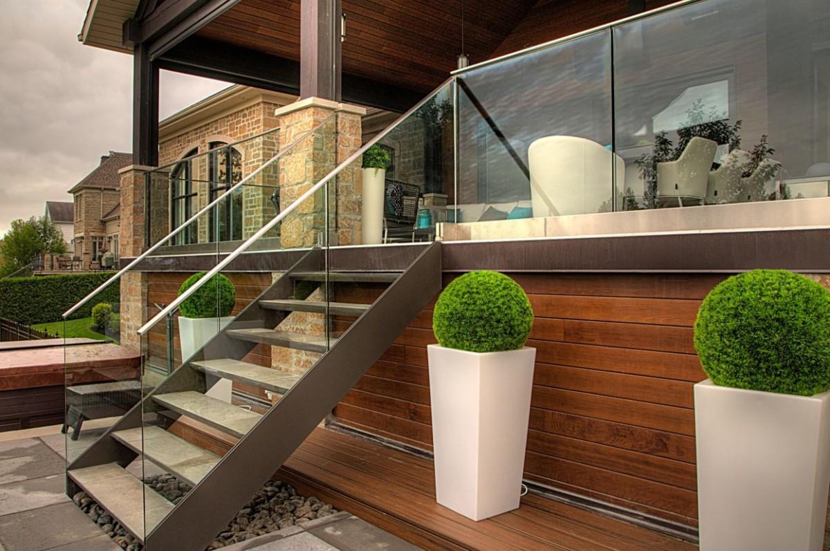 Balkonu projketi ar alumīnija profilu sistēmu un stiklu 4