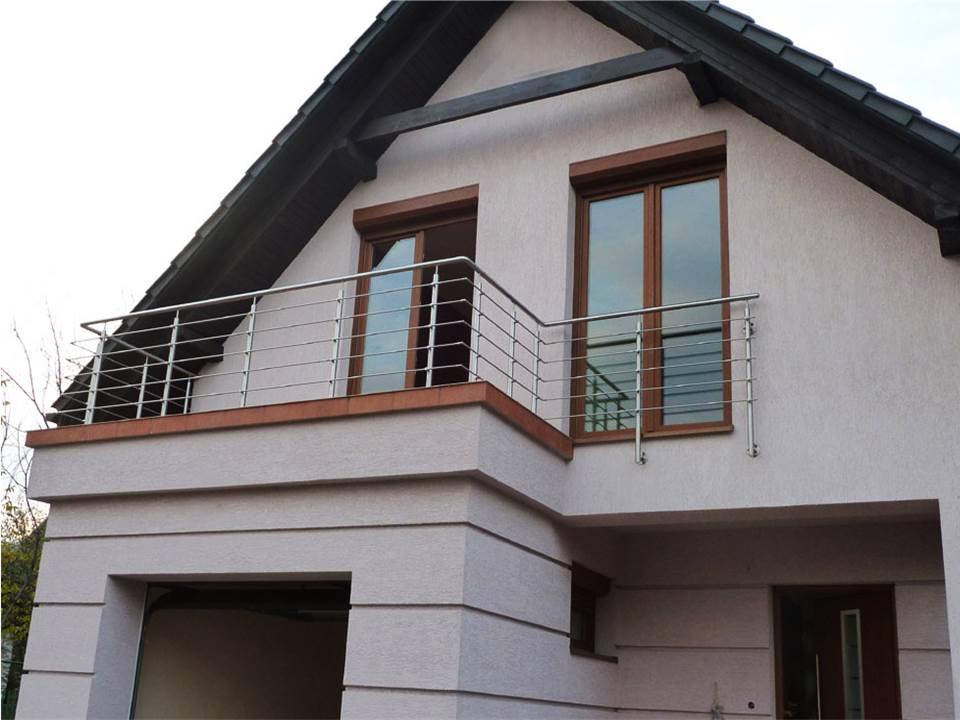 Margas mājas terasei - viegli montējamas